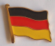 Germany Country Flag Enamel Pin Badge